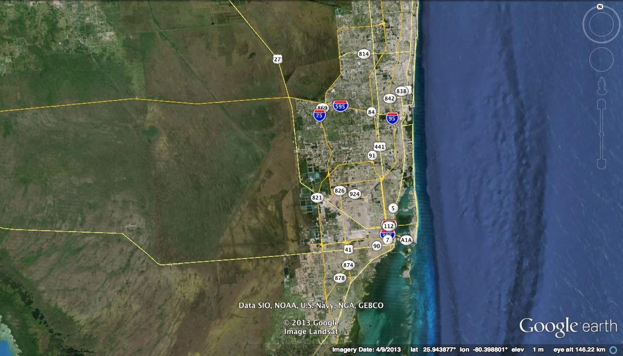 Bridge Of The Week Broward County Florida Bridges III - Florida map i 95