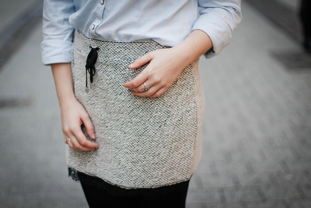 ootd fashion blogger luxembourg lace detail skirt