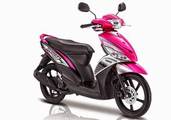 Yamaha Mio J FI Sporty Pink