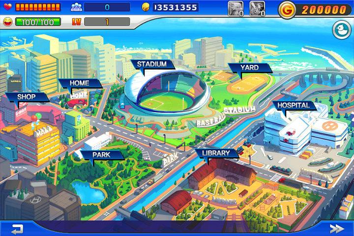 Baseball Superstars 2012: EARN G POINTS