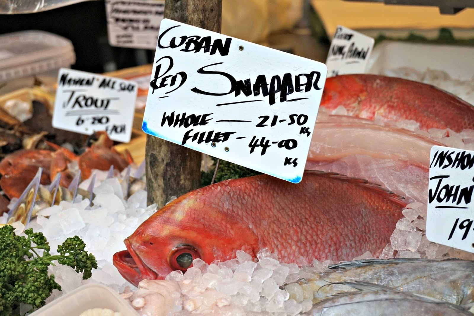 Red Snapper Borough Market