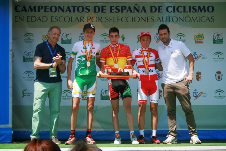 Gel n noticias andaluc a se estrena con medallas for Equipos de ciclismo