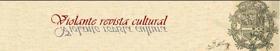 """poesía / ...""""Violante""""  (revista cultural)"""