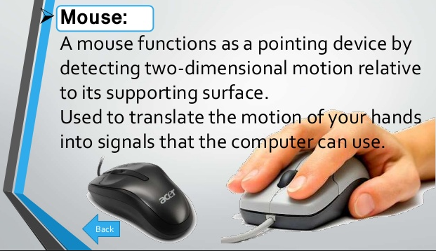 Advantages and Disadvantage of Mouse