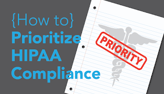 How to prioritize HIPAA compliance