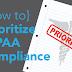 Prioritizing HIPAA: 101