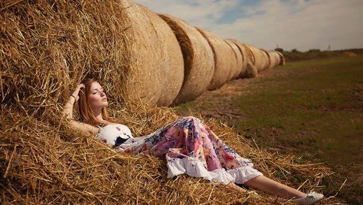 Photo d'une belle fille en sieste