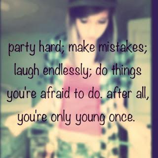 party and laugh girl quote wallpaper