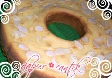 Gambar Masakan Bolu Tape Keju Tabur Kenari Dapur Cantik