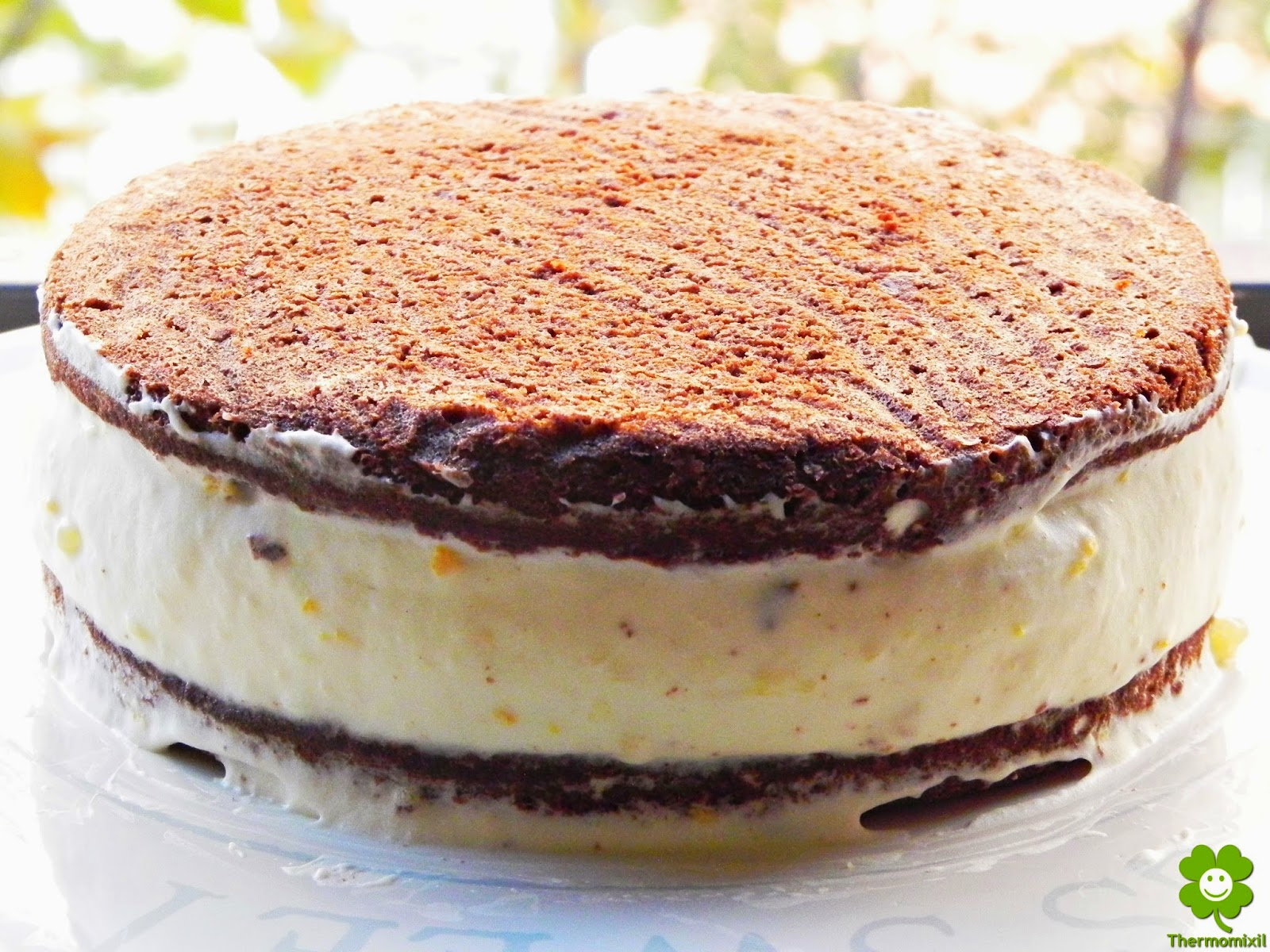 Crema Chocolate Relleno Relleno de Crema de Queso