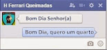 Chat pelo Facebook