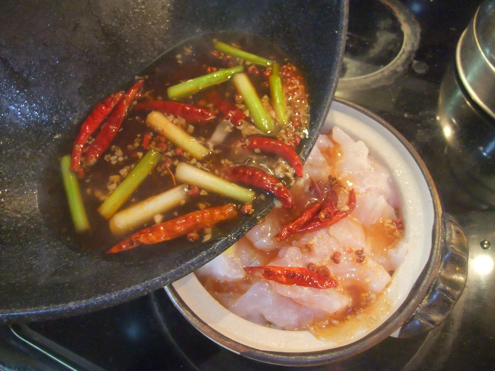 Susan 39 s savour it white fish two ways szechuan spicy for Best fish to pan fry