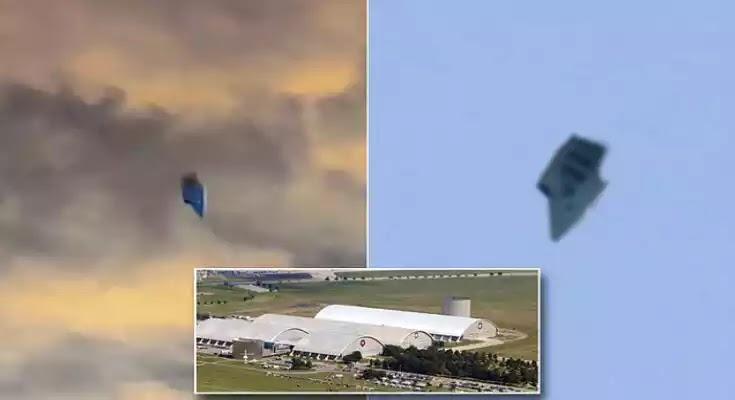 Ίσως το πιο περίεργο UFO που έχετε δει ποτέ, πετά πάνω από μια στρατιωτική βάση των ΗΠΑ [Βίντεο]