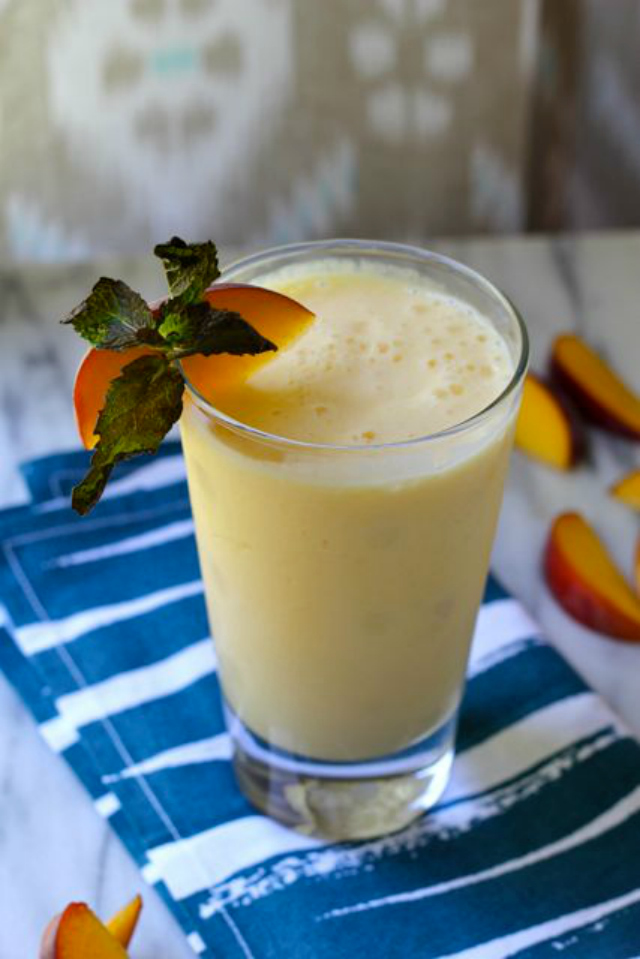 Your Southern Peach: Mango Peach Smoothie