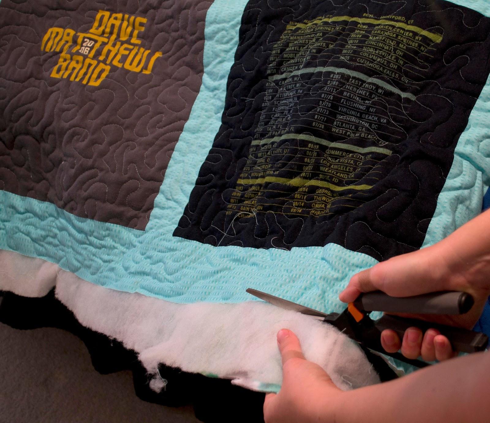 Heidi Schatze T Shirt Quilt Tutorial Part 2 Finishing Your Quilt