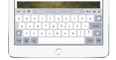 كيف تشغل أو تعطل لوحة المفاتيح ذات الأحرف الصغيرة في IOS 9's