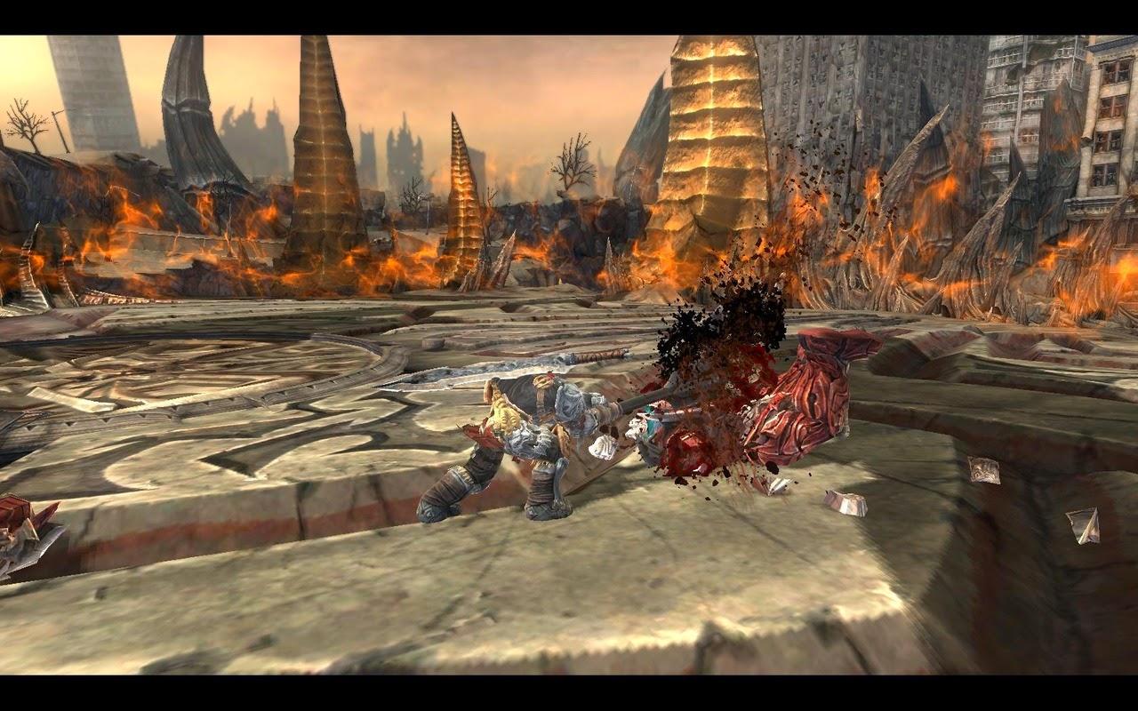 Darksiders 1 pc gameplay, descargar Darksiders 1 full voces y textos en español