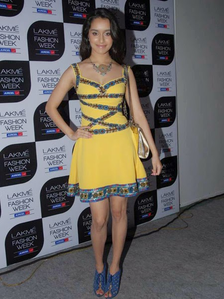 Shraddha Kapoor at Nishika Lulla's Show at LFW