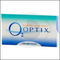 optikku softlens lensa kontak bening clear monthly disposable bulanan o2 optix ciba vision alcon