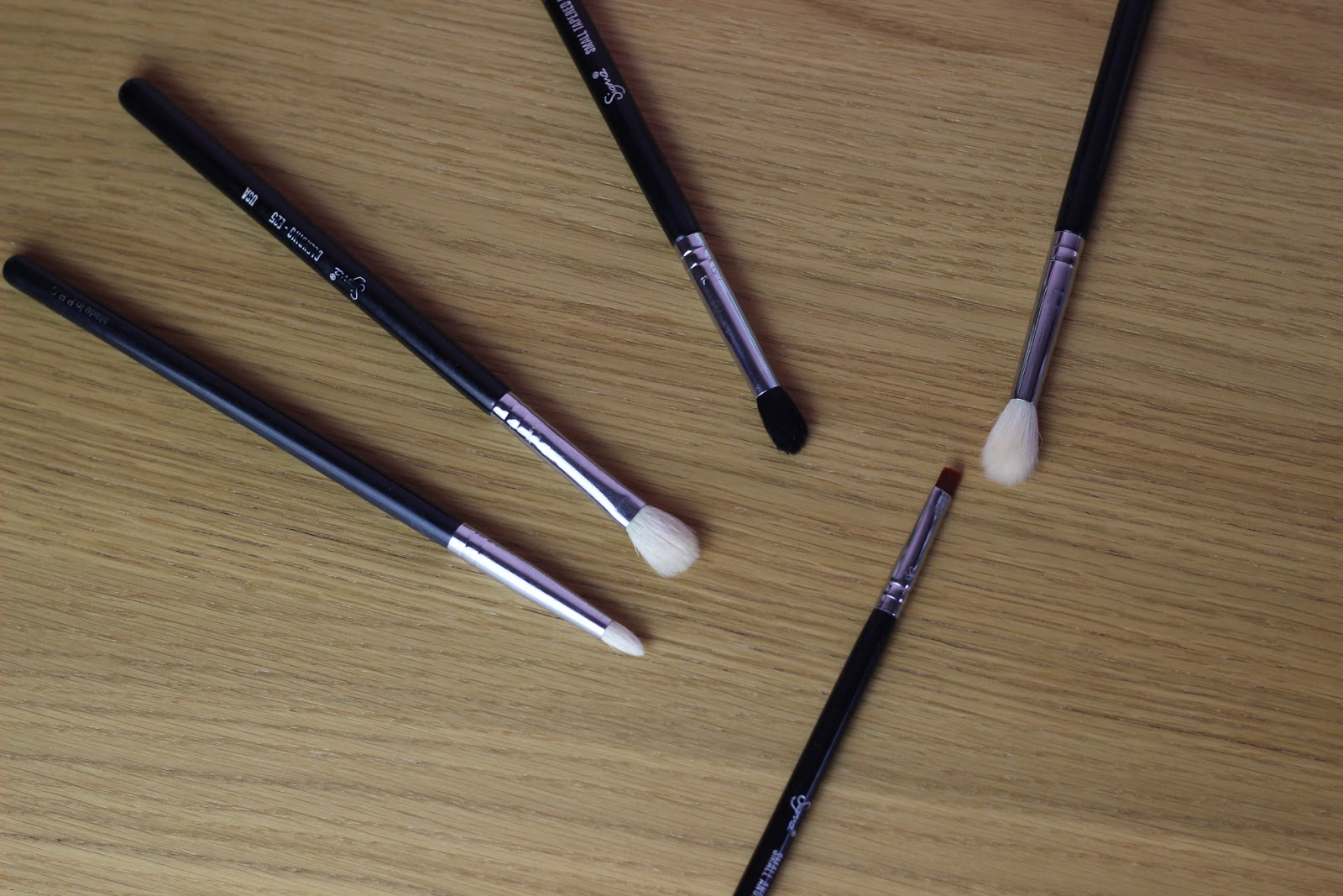 My Everyday Makeup Brushes