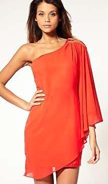 Vestidos Rojos Asimetricos