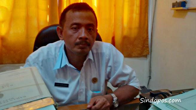 Salah seorang petugas BPN Pacitan