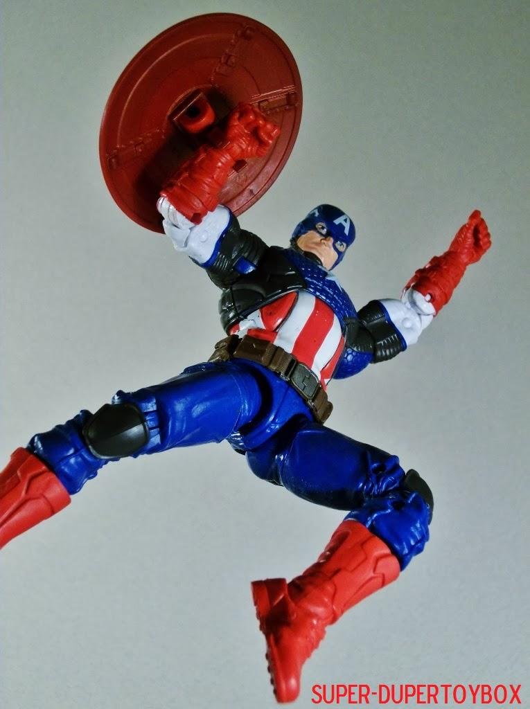 Super-DuperToyBox: Legends Marvel NOW! Capt. America