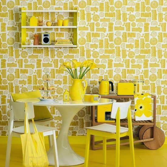 Elite Decor: 2015 Decorating Ideas with Yellow Color