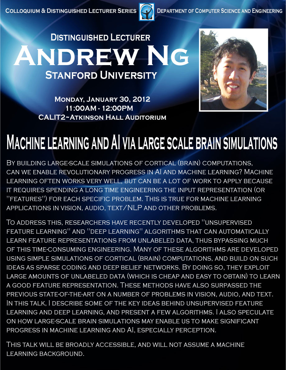 andrew ng machine learning