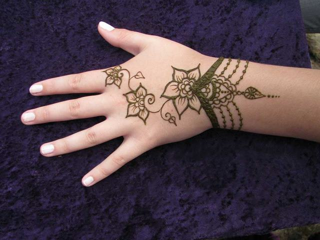 Henna tattoo designs and meanings arabic henna tattoo designs on