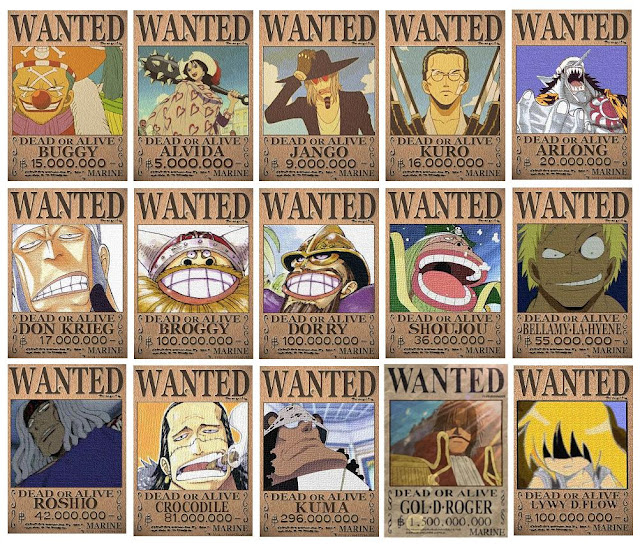One Piece Wanted Poster Editor by dq 4