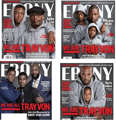 Ebony Magazine We Are Trayvon Covers