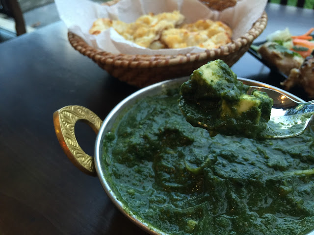 PALAK PANEER review