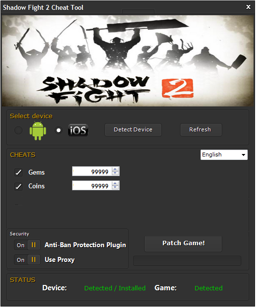 hacked shadow fight 2