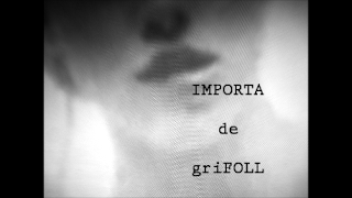 IMPORTA, griFOLL recita el seu poema IMPORTA