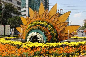 The flower festival