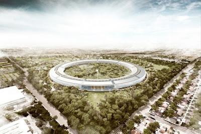 Más imágenes de las futuras oficinas de Apple