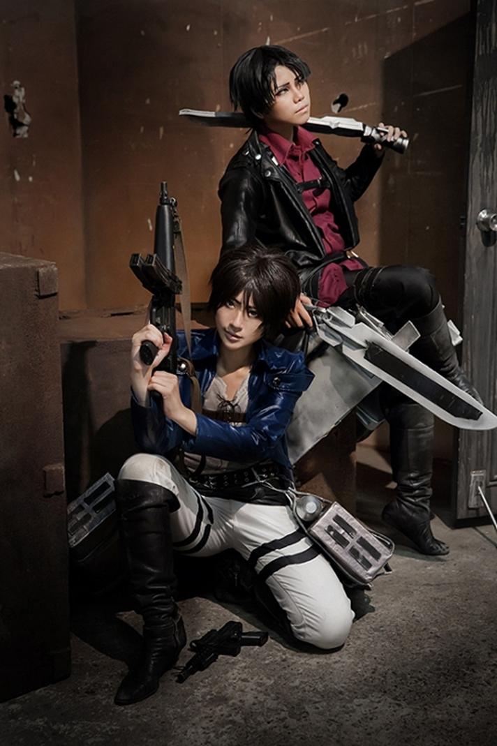 Eren Jaeger Cosplay by Mari | Anime Cosplay