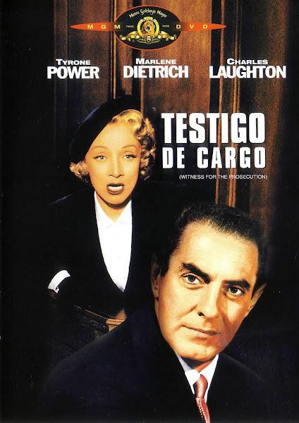 Testigo de cargo (1957) | Caratula | Cartel | Cine clásico