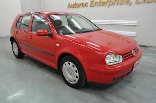 2002 Volkswagen Golf E RHD