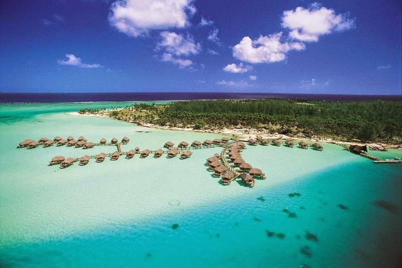 najładniejsze plaże na świecie - Bora Bora