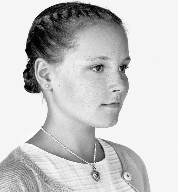 Prince Haakon Princess Mette Marit and Princess Ingrid Alexandra of Norway is 12 years old