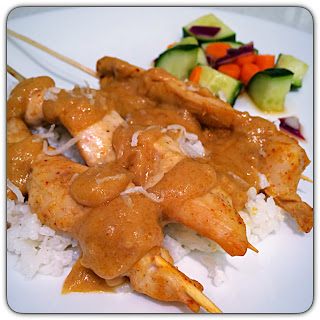 chicken satay dinner recipe