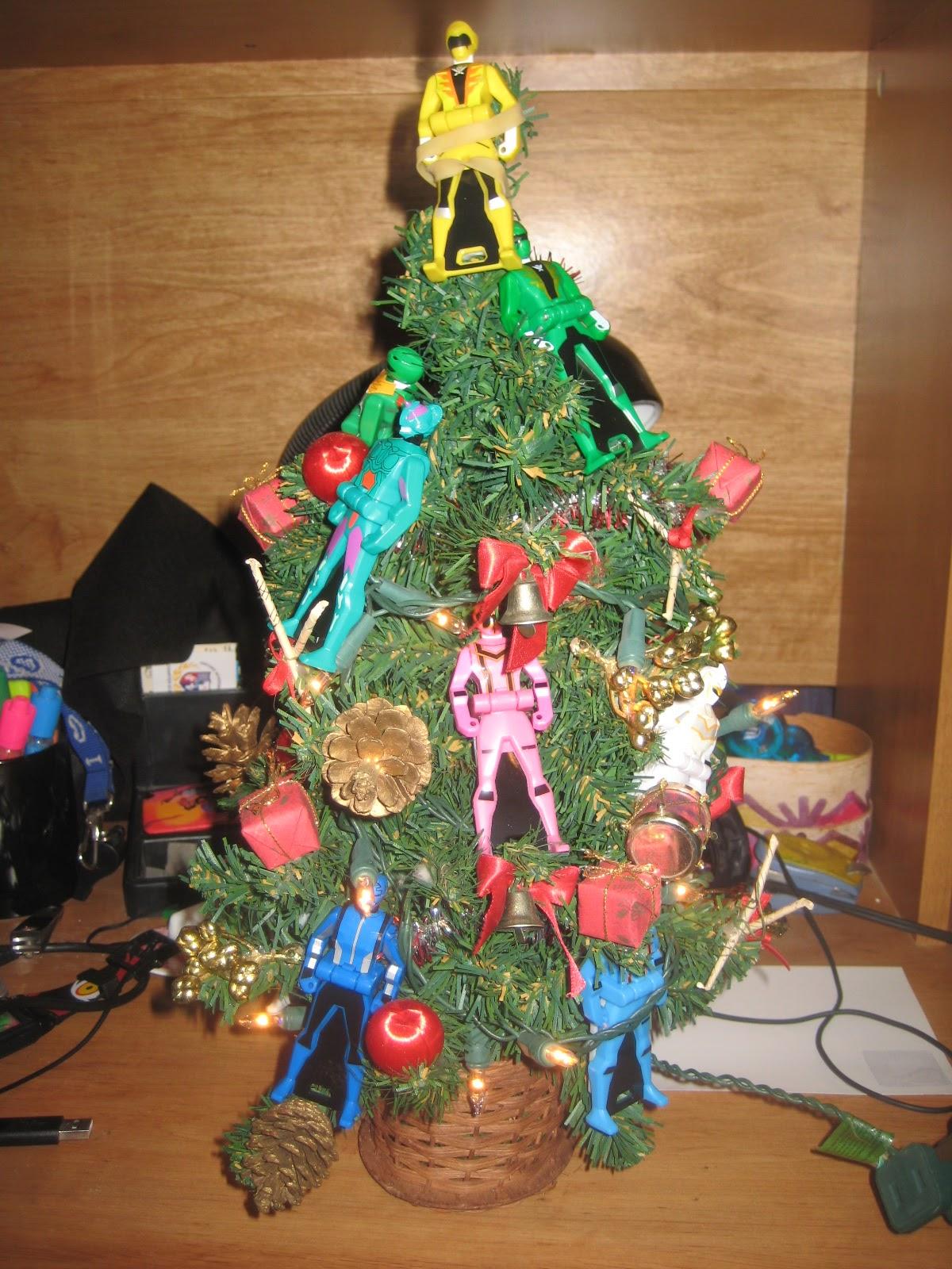 ranger key christmas tree mcdonaldspowerrangers2013