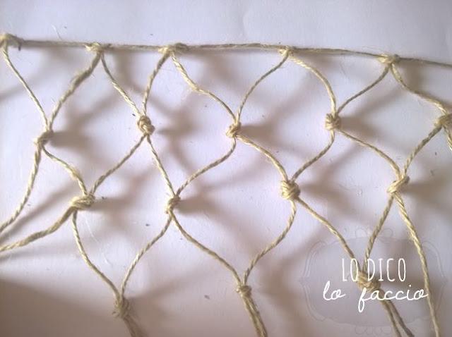 come fare rete da pescatore per piantine