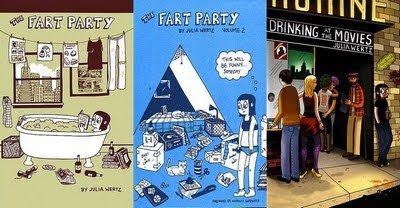 The Fart Party and Drinking at the Movies by Julia Wertz