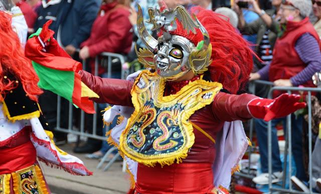 Carnaval Rotterdam 2013 Masks
