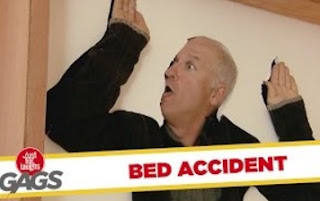 Funny Video – Elderly Trapped Inside Bed PRANK