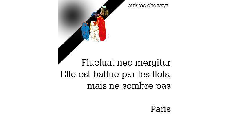 Fluctuat nec mergitur Paris novembre 2015 chez.xyz