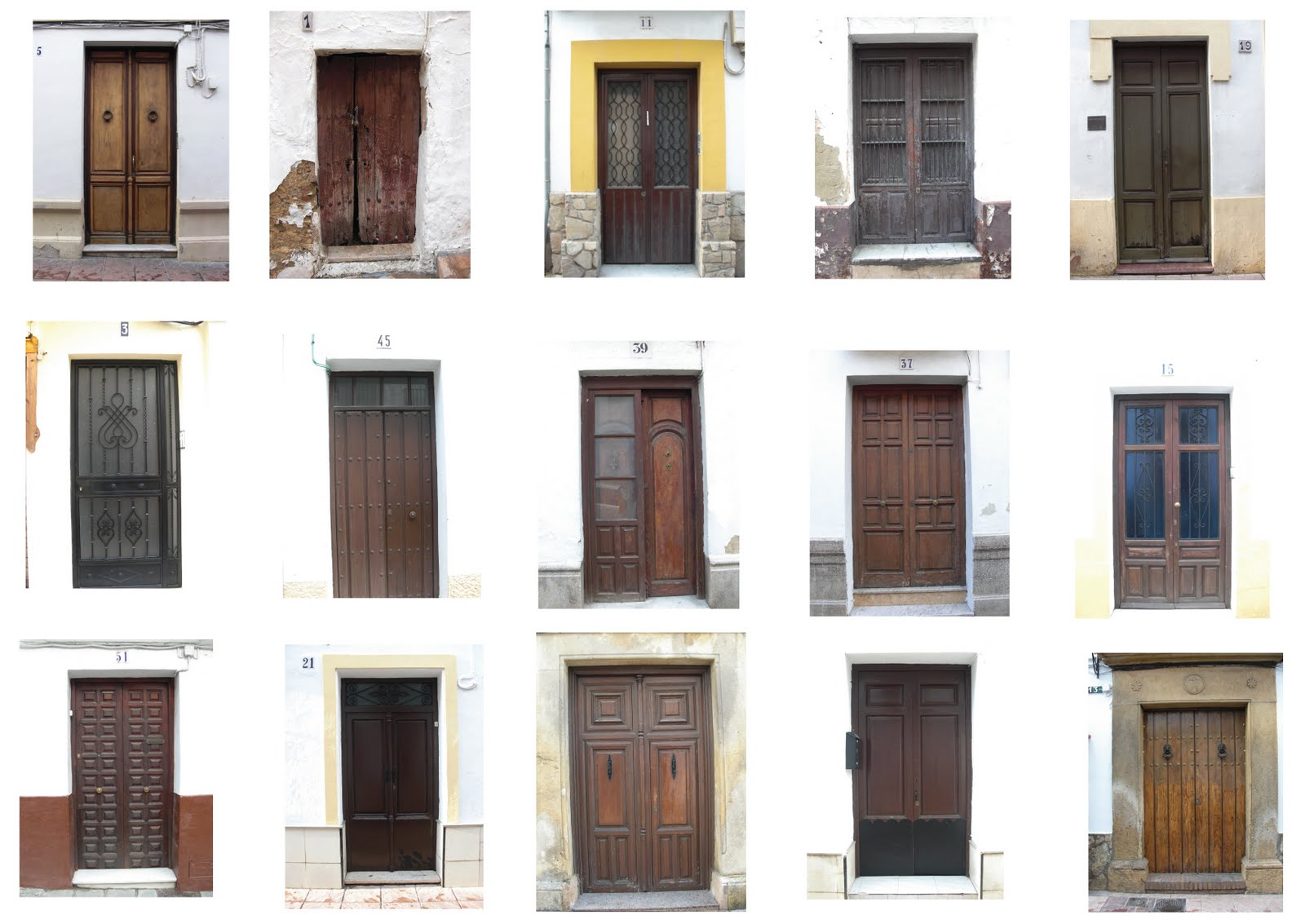 Designing jewels southern spain design discovered for Door in spanish